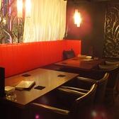 4名様テーブル【テーブル2~10名様】※落ち着いた空間でお食事を堪能いただけます♪