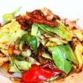料理メニュー写真豚肉とキャベツの特製甜麺醤炒め