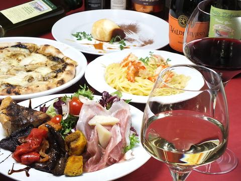 池ノ上駅から徒歩2分。ボンジョリーナで気軽にお食事はいかがですか?