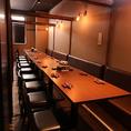 人数に合わせて個室をご用意しております。人気の大人数個室はお早目のご予約をおすすめしております!!宴会・飲み会は『弁慶』で!!