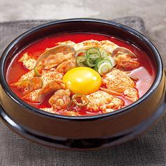 料理メニュー写真純豆腐
