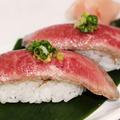 料理メニュー写真近江牛のにぎり(2貫)