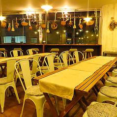 路のカフェのコース写真