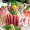 料理メニュー写真季節の鮮魚盛り合わせ