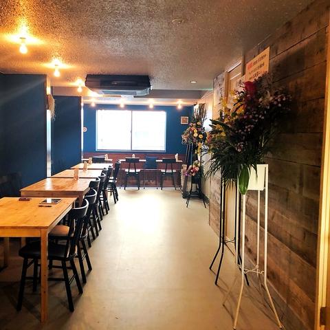 自然を感じる今話題のロハス風カフェ&バー☆ロフト付/ディナー営業中♪