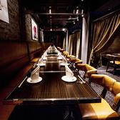 接待やご宴会などワンランク上のご宴席にぜひご利用ください。テーブル席、お座敷席、ソファー席など少人数様に最適な個室をご用意しております。