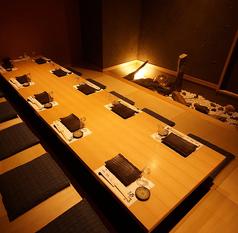 酒湊3階8~10名様の完全個室です。接待や会社の飲み会時にぴったりです。