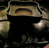 炭銀特製義経焼!煙の出ないスグレモノです
