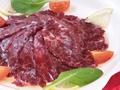 料理メニュー写真馬肉のカルパッチョ