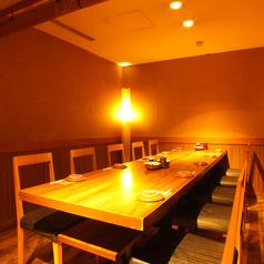 少人数個室もございます♪しっとり個室でくつろぎたい時にはこちらのお席がオススメです♪友人との飲み会、女子会などにもぜひご利用ください♪銀座で九州料理居酒屋をお探しの方は当店をご利用してみてはいかがですか♪