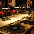 アナログレコード再生にこだわった音響設備。DJイベントなどにも利用可能