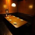 6名様までご利用可能な個室です!合コンや女子会にピッタリなお席となっております♪プライベートな楽しい時間を存分にお過ごしいただけます!周りのお客様の目を気にせず、個室というプライベート空間で楽しいひと時をお過ごし下さい!人気のお席なのでご予約はお早めに☆
