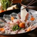 料理メニュー写真五島列島海鮮しゃぶしゃぶ 2人前から