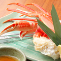 料理メニュー写真タラバカニ(小)