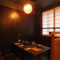 【2F】完全個室のお座敷はこもり感&プライベート感たっぷり♪接待にもどうぞ!