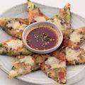 料理メニュー写真海鮮ネギチーズチヂミ/キムチチーズチヂミ