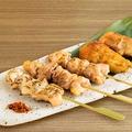 料理メニュー写真串盛り合わせ 5種(塩・タレ)