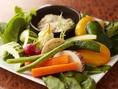 有機野菜たっぷりバーニャカウダ