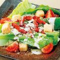 料理メニュー写真ロメインレタスのコク旨濃厚シーザーサラダ