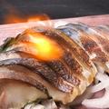 料理メニュー写真九州産 しめ鯖の炙り