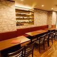 【TABLE】ゆったり使えるテーブル座席は蒲田でも屈指のモダン座席!料理の品質は空間作りから♪