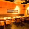 【会社宴会に】4名~最大12名様迄ご利用頂けるテーブル席をご用意しております