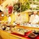 畑の厨 膳丸 新宿店で新鮮な肉野菜などのランチブッフェ