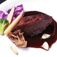 【オススメメニュー】牛ほほ肉の赤ワイン煮込み
