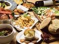 多彩な料理でお酒との相性もピッタリ