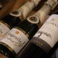 オーナーこだわりの厳選されたワインをご用意♪種類豊富!料理によく合う自慢のワイン☆リーズナブルで美味しいワインから高級ワインまで充実の品揃え!お肉と共にお楽しみ下さいませ♪