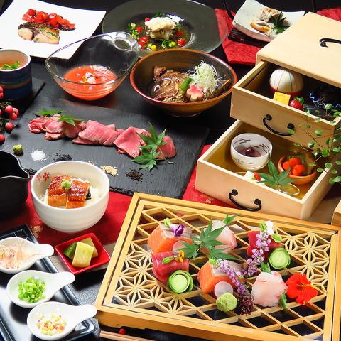 ◇◆和食×創作料理◆◇ 旬の食材と料理人の腕が光る名店が円山にOPEN。
