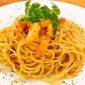 料理メニュー写真海老のトマトクリームパスタ