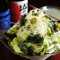 料理メニュー写真朴の木特製 塩チョレギサラダ