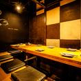 2~6名様までの半個室は、飲み会や合コンにちょうどいい広さの人気スペース!渋谷駅からも近いのでアクセス抜群!