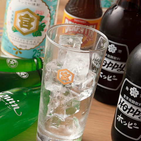 【2時間フリー飲み放題1500円】 生ビール付