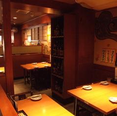 1階プライベートのフリー向のテーブル席☆