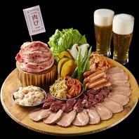 肉祭りプレート3500円