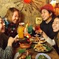 【もりもり系女子会!!】草食or肉食選べるタイ式女子会コース★あなたは何派?
