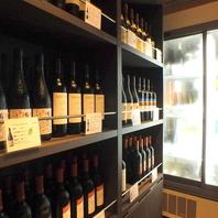 赤・白・スパークリング・ロゼなど約70種のボトルワイン