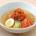 料理メニュー写真ネギチャーシュー冷麺