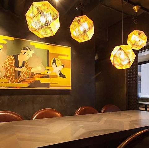 あの佐五右衛門2号店!より大人な空間とワインにも合う創作串焼きをお楽しみください