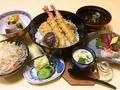 料理メニュー写真天丼定食