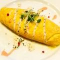 料理メニュー写真チーズオムレツ