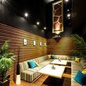 9名様からご利用可能な完全貸切個室リゾートルーム!木のぬくもりが溢れ出す開放的なリゾート空間!。最大20名様まで可能なので、歓送迎会にもぴったりです☆