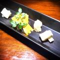 料理メニュー写真チーズ5種盛り合わせ