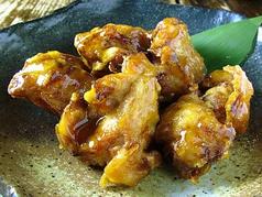 料理メニュー写真若鶏の唐揚げ/若鶏の唐揚げ 甘酢あん和え