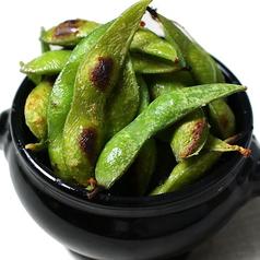 こんがり焼き枝豆