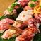 広島 裏袋 肉寿司の画像