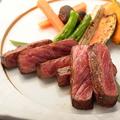 料理メニュー写真【栗駒高原 漢方和牛】もも炙りステーキ