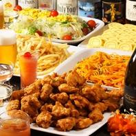 パーティーコースはホットペッパー予約で3H飲み放題★